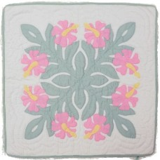 Pillow Cover-Hibiscus 13