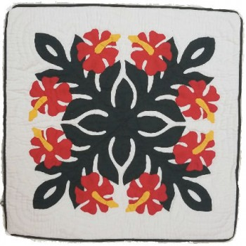 Pillow Cover-Hibiscus 14