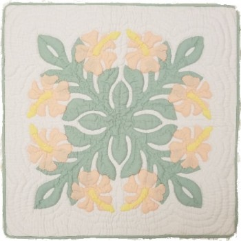 Pillow Cover-Hibiscus 16