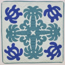 Pillow Cover-Honu-Coconut Trees
