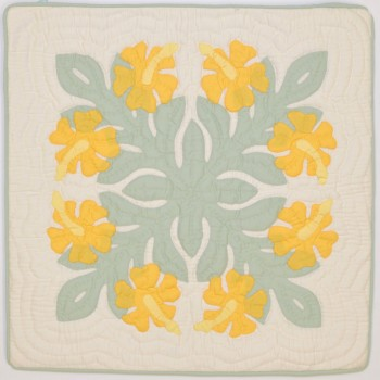 Pillow Cover-Hibiscus 15