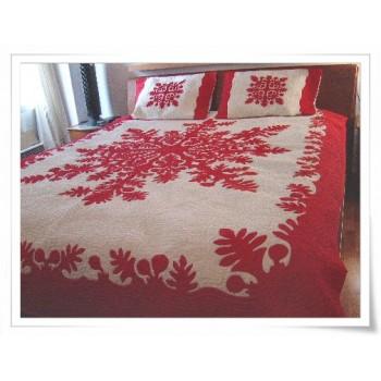 Hawaiian Bedspread-Breadfruit 2