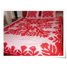 Hawaiian Bedspread-Hawaiian Garden