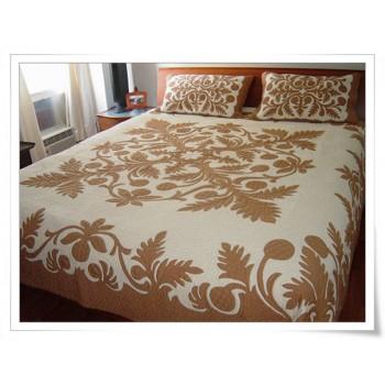 Hawaiian Bedspread-Breadfruit 08