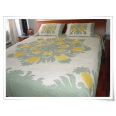 Hawaiian Bedspread-Pineapple Fields Forever 3