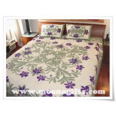 Hawaiian Bedspread-Orchid Paradise 1