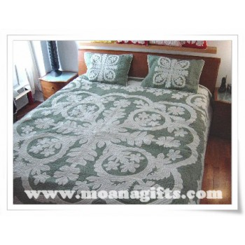 Hawaiian Bedspread-Orchid 1
