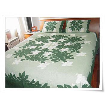 Hawaiian Bedspread-Orchid 2