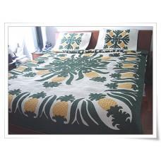 Hawaiian Bedspread-Pineapple Fields Forever 2