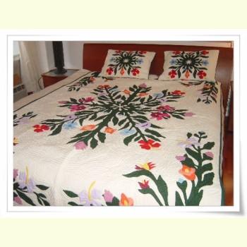 Hawaiian Bedspread-Tropical Garden